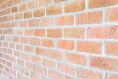 Brique rouge de fond Image libre de droits