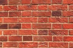 Brique rouge de texture images libres de droits