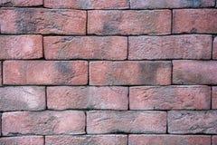 Brique rouge pâle Photos libres de droits