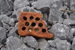 Brique rouillée photo libre de droits