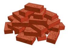 Briques illustration libre de droits