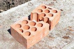 Briques cassées Image libre de droits