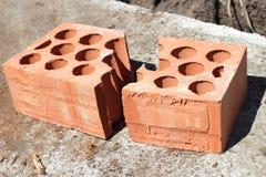 Briques cassées Images stock