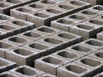 Briques concrètes Photos stock