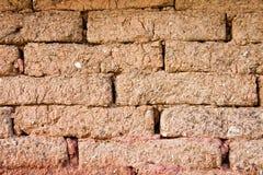 Briques de boue Photographie stock libre de droits