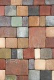 Briques de couleur Images libres de droits