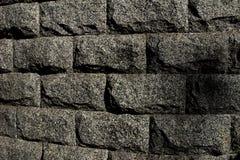 Briques de granit Photographie stock libre de droits