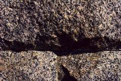 Briques de granit Image stock