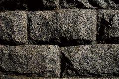Briques de granit Photo stock
