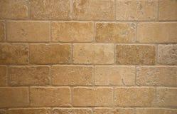 Briques de marbre dégringolées Photographie stock