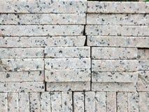 Briques de marbre, matériaux de construction, empilés ensemble photos libres de droits