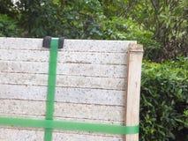 Briques de marbre, matériaux de construction, empilés ensemble image stock