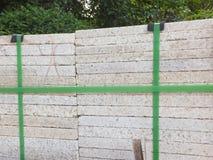 Briques de marbre, matériaux de construction, empilés ensemble photo libre de droits