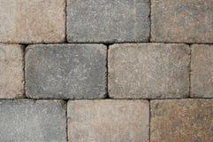 Briques de patio Images libres de droits