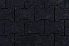 Briques de verrouillage de Sidwalk Images stock
