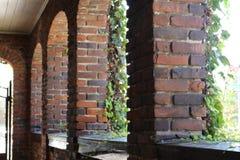 Briques de ville Photographie stock