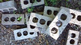 Briques empilées Images libres de droits