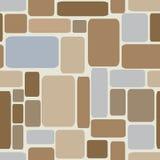 Briques en pierre Illustration sans joint de vecteur illustration libre de droits