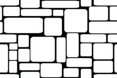 Briques en pierre Illustration sans joint de vecteur illustration stock