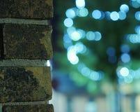 Briques et Bokeh photographie stock libre de droits