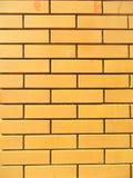 Briques oranges Photographie stock