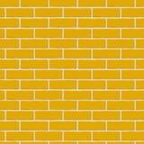 Briques oranges Configuration sans joint illustration stock