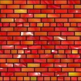 Briques rouges illustration libre de droits