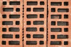 Briques rouges Images libres de droits