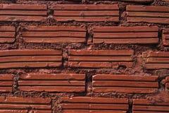 Briques rouges image libre de droits