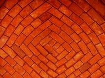Briques rouges Photos libres de droits
