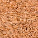 Briques rouges de pile image stock