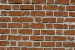Briques rouges et mortier - disposition typique image stock