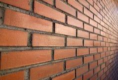 Briques rouges et soleil Image stock