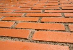 Briques rouges et soleil Photographie stock libre de droits