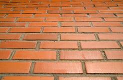 Briques rouges et soleil Image libre de droits