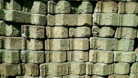 Briques vieilles images stock