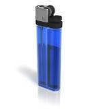 Briquet bleu Photos libres de droits