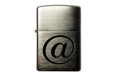 Briquet de cigarette Image stock