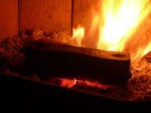 Briquetas de carbón Imagen de archivo libre de regalías