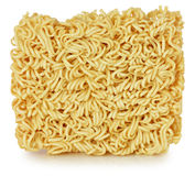 Briquette of the twisting egg noodles Stock Photo