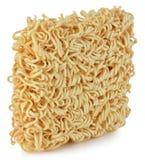 Briquette of the twisting egg noodles Stock Images