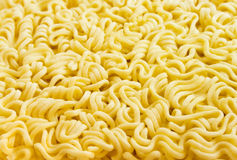 Briquette of the twisting noodles. Briquette of the twisting egg noodles Royalty Free Stock Photography