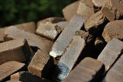 briquettes fotos de stock royalty free