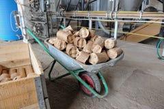 briquettes foto de stock royalty free