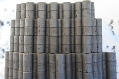 briquettes fotos de stock