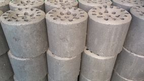 Briquettes royalty free stock images