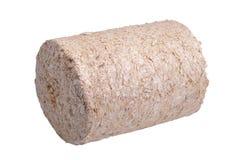 briquettesawdust Arkivfoton