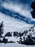 Brisa da montanha foto de stock