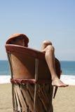 Brisa de reclinación Fotografía de archivo