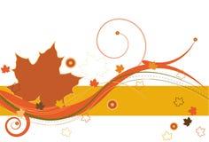 Brisa del otoño stock de ilustración